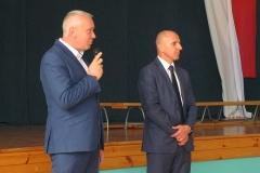 Przemówienie Wójta na rozpoczęcie roku szkolnego 2016/2017 w gimnazjum w Gowarczowie