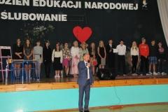 Przemówienie Dyrektora gimnazjum pana Pawła Skowrona