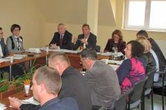 Zdjęcie z sesji Rady Gminy w Gowarczowie