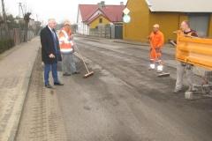 Remont drogi w Gowarczowie