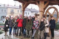 wspólne zdjęcie uczestników wycieczki