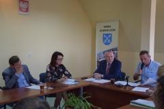 fotografie z obrad sesji rady gminy