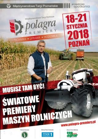Polagra-premiery 2018, Targi Poznańskie
