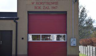 Więcej o: OSP  w Korytkowie z nową bramą garażową