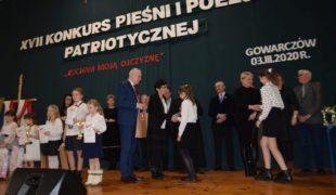 Więcej o: XVII Diecezjalny Konkurs Pieśni i Poezji Patriotycznej w Gowarczowie