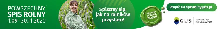 Powszechny Spis Rolny 2020 - baner