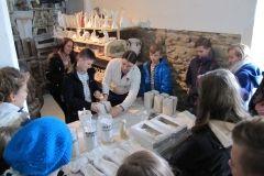 zdjęcie z wycieczki - warsztaty wyrobu porcelany