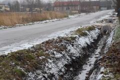 Miejscowość Giełzów, rowy