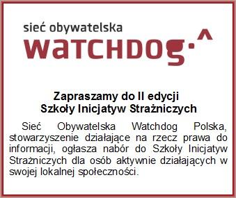 Sieć Obywatelska WATCHDOG
