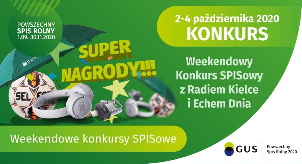 Konkurs Spisowy 2-4 października 2020 r.
